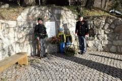 Vzpomínka padlým první světové války v obci Pyšná 10. 10. 2019
